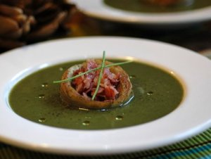 cougettespinachsoup