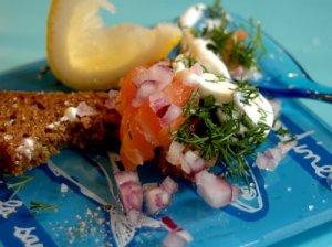 Salmon tartare 3