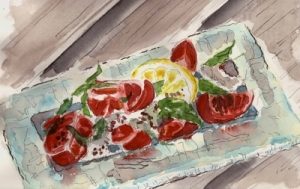 tomato mozz salad 2