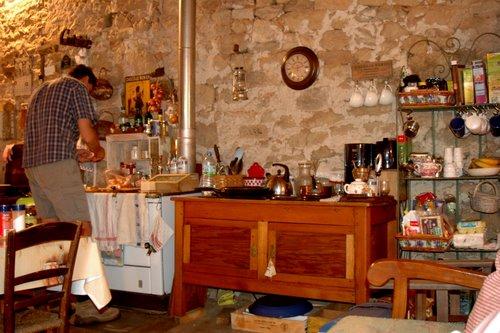 a working kitchen