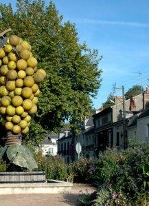 famous landmark of Montlouis