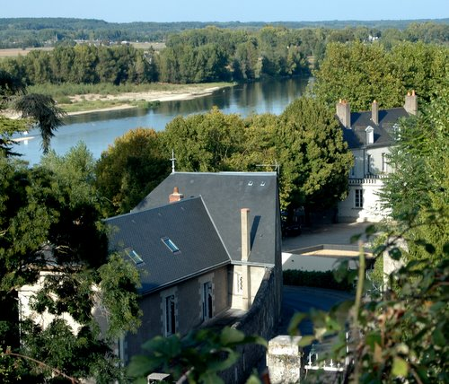 la loire from the top of the hill