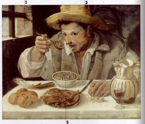 Le mangeur de haricots-Annibale Carrache(1583-84)