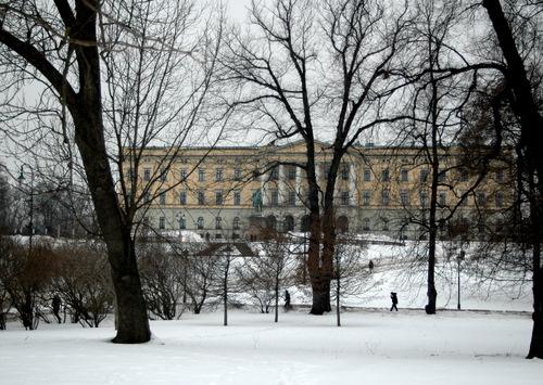 Oslo-royal palace(Slottet)