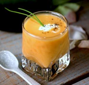 soupe d'abricot
