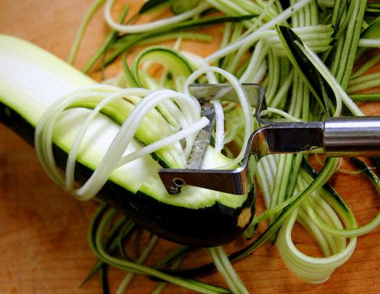 Courgette spaghetti 2 myfrenchkitchen - Comment cuisiner courgette spaghetti ...