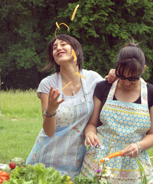 funny aprons. So.. can an apron be fun?