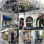 Coffeeshops Amsterdam- collage