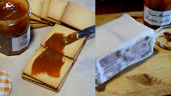 caramel squares_ collage