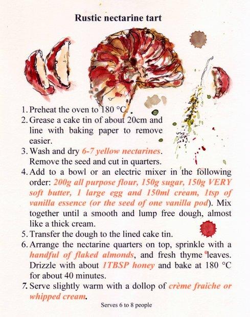 tarte aux nectarines recipe-001