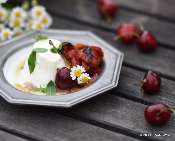 cottage cheese with roasted honey tomatoes-009